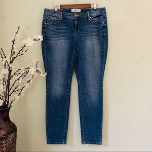 Torrid Medium Wash Skinny Jean NWOT Size 16